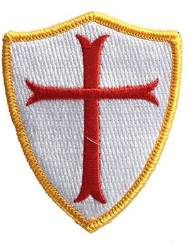 Crusader Shield Shoulder Patch by Gadsden And+Culpeper