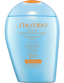 Ultimate Sun Protection Lotion Broad Spectrum Spf 50+ Wet Force For Sensitive Skin And Children by Shiseido