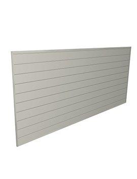 proslat-88109-heavy-duty-pvc-slatwall-garage-organizer,-8-feet-by-4-feet-section,-sandstone by proslat
