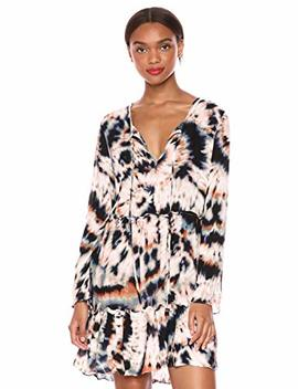 Bcb Generation Women's Tie Dye Tiered Dress by Bcb Generation