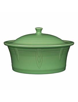 "Fiesta Large Covered Casserole 10 1/2"", 90 Oz   Meadow by Fiesta"