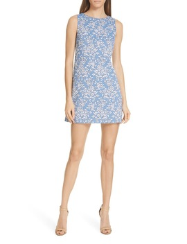 Clyde A Line Minidress by Alice + Olivia