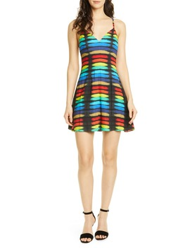 Alves Fit & Flare Cocktail Dress by Alice + Olivia