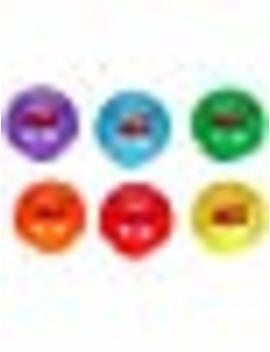 Sportime Multi Purpose Inflatable All Balls, 4 Inches, Set Of 6 by Sportime