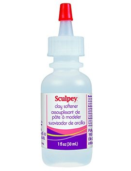 Sculpey Liquid Clay Softener, 1 Fluid Ounce by Sculpey