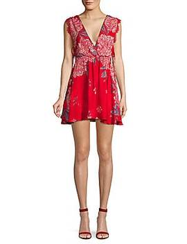 Marnie Printed Mini Dress by Free People