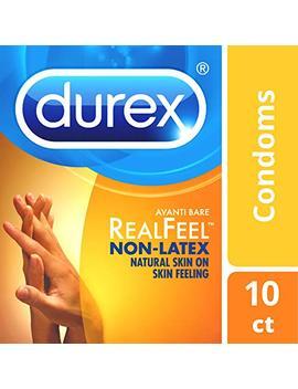 Condoms, Non Latex Durex Avanti Bare Real Feel Condom, 10 Ct Hsa Eligible by Durex
