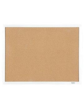 "Quartet Cork Bulletin Board, 17""X23"", White Frame (33271 Wt) by Quartet"