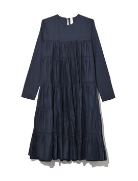 Essaouira Dress In Navy by Merlette