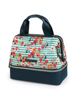 Dabney Lee By Arctic Zone Katie Lunch Satchel   Summer Bloom by Summer Bloom