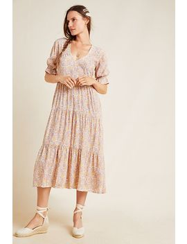 Faithfull La Falaise Midi Dress by Faithfull
