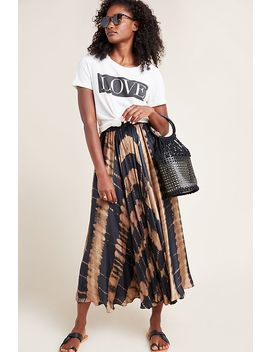 Byrony A Line Midi Skirt by Anthropologie