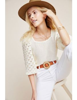 Brylie Knit Pullover by Anthropologie