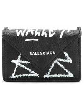 mini-papier-wallet by balenciaga