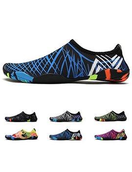 Deyuan Quick Dry Water Shoes Aqua Socks Barefoot For Outdoor Beach Swim Surf, Anti Slip Shoes For Men/Women/Kids by Deyuan
