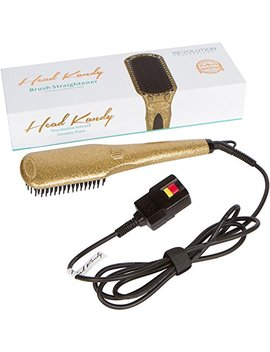 head-kandy,-straightening-brush-20,-gold,-professional-hair-straightener,-tourmaline-infused-ceramic,-for-all-hair-types by head-kandy