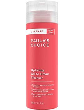 Paula's Choice Defense Hydrating Gel To Cream Facial Cleanser With Green Tea, Licorice, Aloe & Soy, Anti Pollution And Free Radical Damage... by Paula's Choice