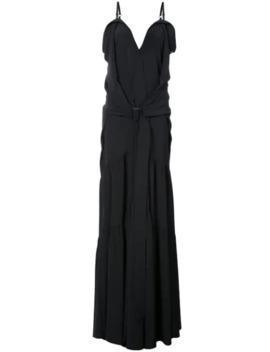 flared-maxi-dress by vera-wang