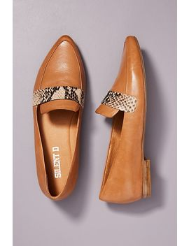 Silent D Pointed Toe Loafers by Silent D