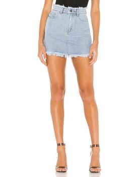 Karen Denim Mini Skirt by Superdown