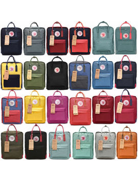 Unisex 7 L/16 L/20 L Women's Fjallraven Kanken Backpack Travel Shoulder School Bags by Unbranded