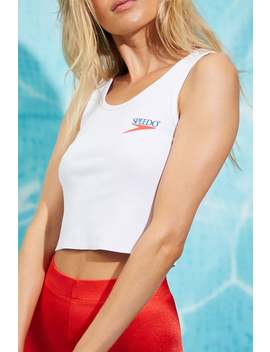 Speedo Graphic Crop Top by Forever 21