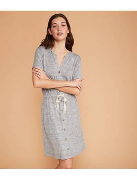 Lou &Amp; Grey Brushmarl Shirtdress by Loft