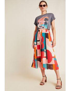 Aurelia A Line Midi Skirt by Maeve