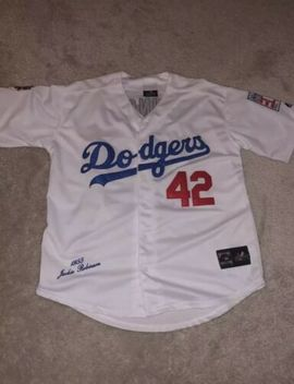 Jackie Robinson Dodgers Jersey Size Small Vintage Stitched Mlb Baseball by Ebay Seller