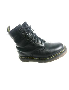 Dr Martens Vintage Made In England Women's Black Boots Size Us.7 Eu.37.5 Uk.5 by Dr. Martens