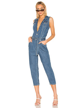 Cropped Taper Jumpsuit by Levi's