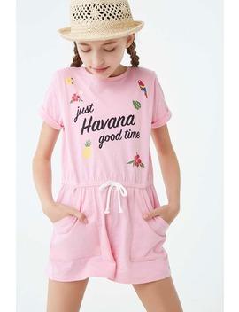 Girls Havana Graphic Romper (Kids) by Forever 21