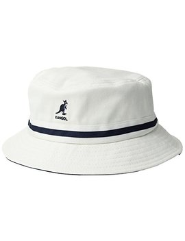 Kangol Men's Striped Lahinch Updated Version Of The Classic Bucket Hat by Kangol