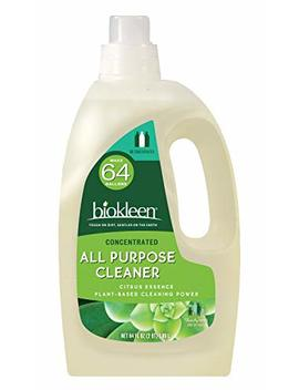 Biokleen All Purpose Cleaner, Super Concentrated, Eco Friendly, Non Toxic, Plant Based, No Artificial Fragrance,... by Biokleen