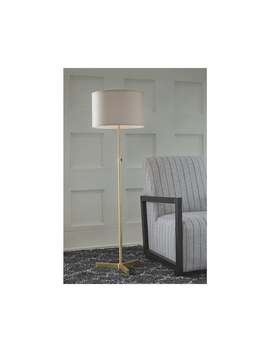 Laurinda Metal Floor Lamp With Fabric Shade by Signature Design By Ashley