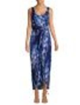 Sleeveless Front Twist Maxi Dress by Tommy Bahama