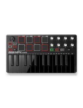 Akai Mpk Mini Mkii Le Black   Portable Laptop Usb Midi Drum Pad Keyboard Control by Akai