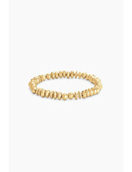 Stella & Dot Nicholette Stretch Bracelet Gold Brand New In Original Box by Stella & Dot
