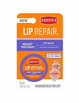 O'keeffe's K3015207 Night Repair Lip Balm, Clear by O'keeffe's