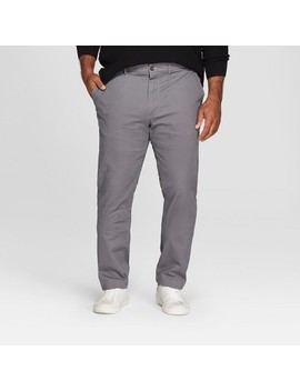 Men's Tall Slim Fit Hennepin Chino   Goodfellow &Amp; Co Dark Gray by Goodfellow & Co Dark Gray