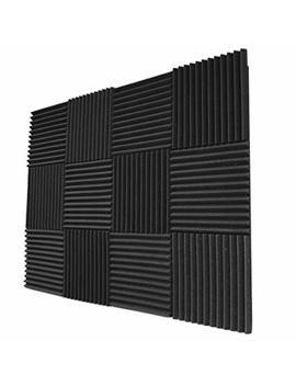 "Foamily 12 Pack  Acoustic Panels Studio Foam Wedges 1\"" X 12\"" X 12\ by Foamily"