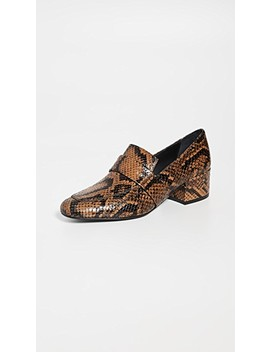 The Rock Mid Heel Loafers by Freda Salvador