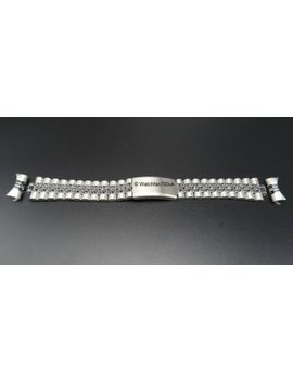 Stainless Steel Jubilee Bracelet With Curved Fits Rlx 18mm 20mm 22mm by Unbranded