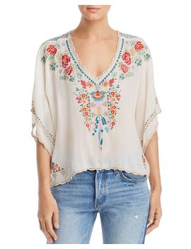 klarah-embroidered-contrast-blouse by johnny-was