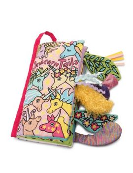 Unicorn Tails Book   Ages 0+ by Jellycat