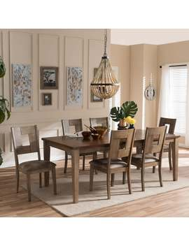 """Baxton Studio Aminta Country Cottage Weathered Grey And \""""Oak\"""" Brown 2 by Baxton Studio"""