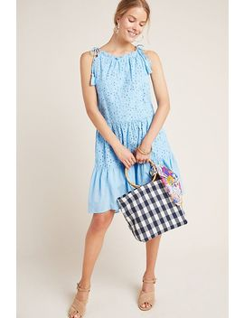 Mindy Eyelet Tiered Tunic Dress by Ranna Gill