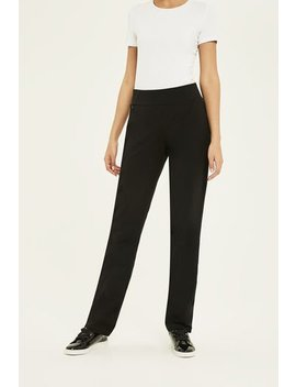 Slim Leg Yoga Pant With Zip Pocket by Long Tall Sally