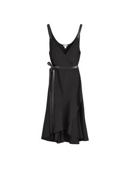 Silk Wrap Dress by Cuyana