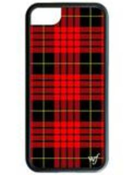 Red Plaid I Phone 6/7/8 Case by Wildflower Cases